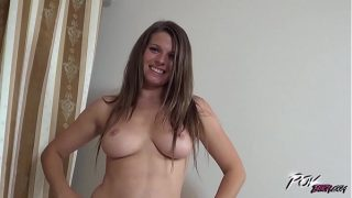 Gorgeous busty Mona Lee blowjob till cum