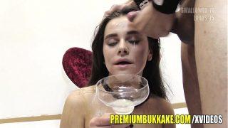 Premium Bukkake – Mary swallows 88 huge mouthful cum loads